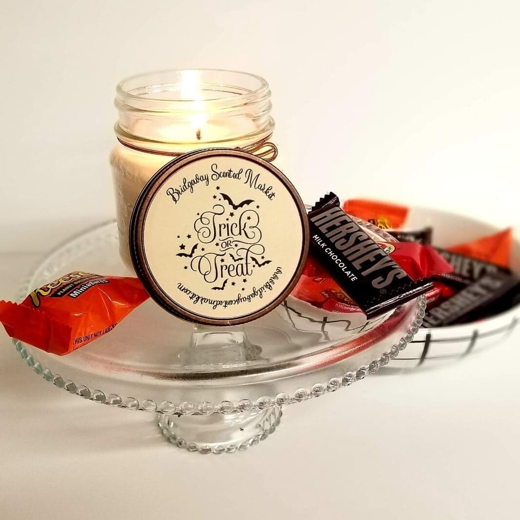 Limited Edition Trick or Treat Candle