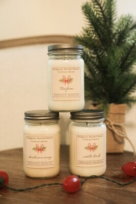 Bundle of 6 Christmas Candles - Shipping Included