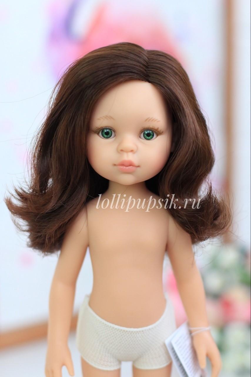 Кукла Кэрол с длинными волосами без одежды (Паола Рейна), 34 см