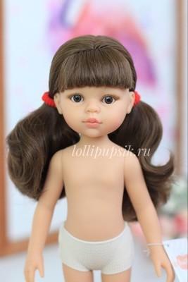 Кукла Кэрол с челкой без одежды (Паола Рейна), 34 см