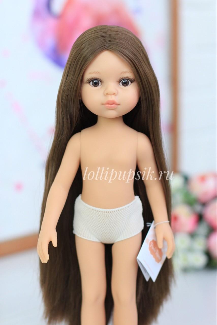 Предзаказ. Отправка после 10 июня.  Кукла Кэрол Рапунцель с длинными волосами без одежды в комлекте с пижамой  (Паола Рейна), 34 см