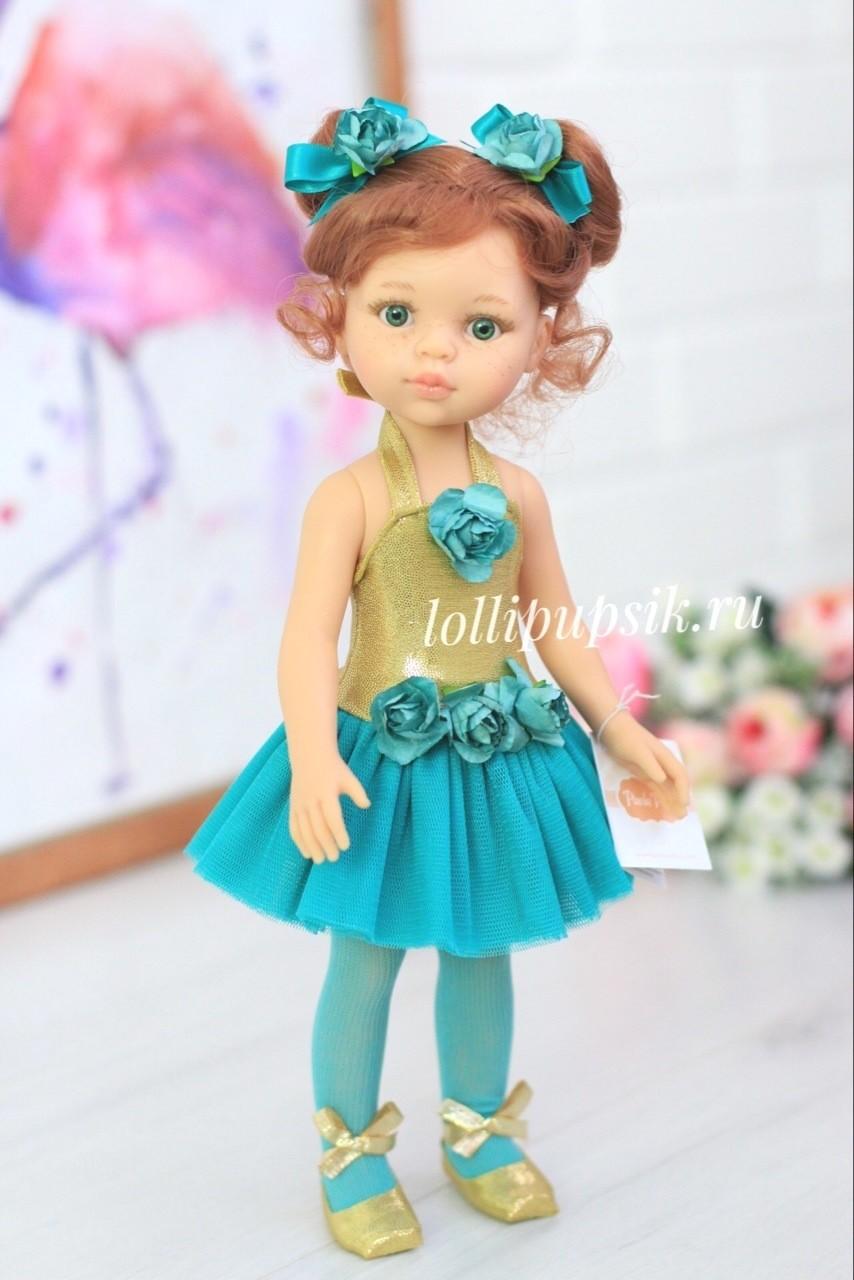 Кукла Кристи балерина Паола Рейна с буклями, 34 см
