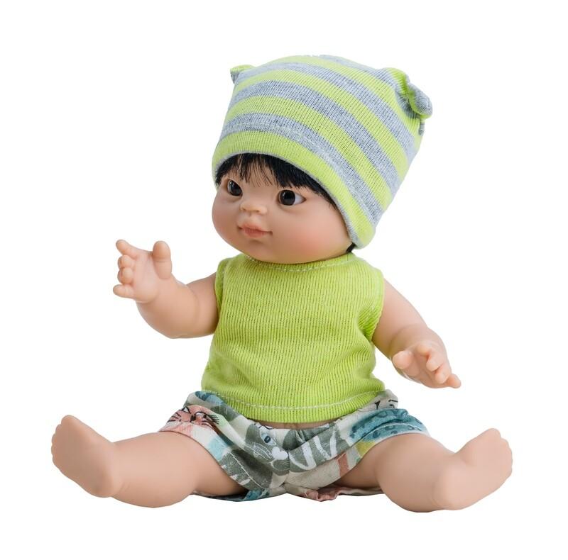 Кукла-пупс Фермин, азиат, Paola Reina, 21 см