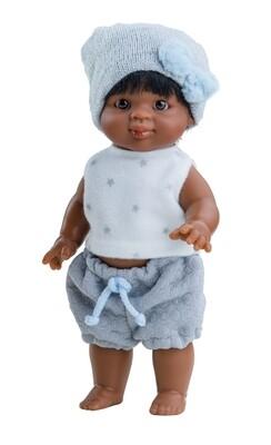Кукла-пупс Иван, мулат, Paola Reina, 21 см