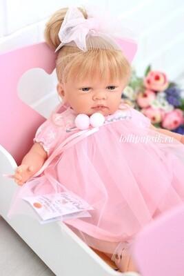 Кукла мягконабивная Селия (Celia Pink), Nines dÓnil, 45 см