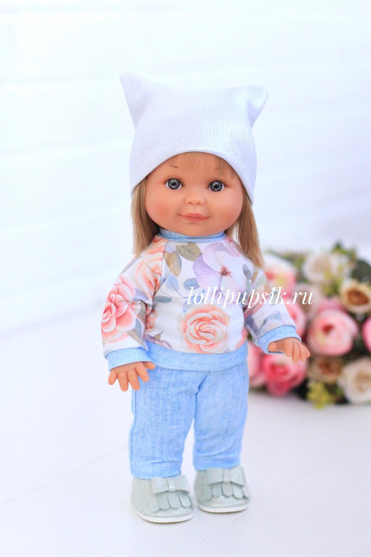 Кукла Бетти с ароматом карамели, 30 см (в цветочном костюме) Lamagik Magic Baby