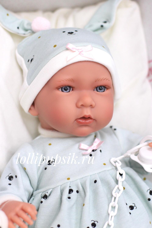 Кукла Mimi со звуковым механизмом, Llorens, 42 см