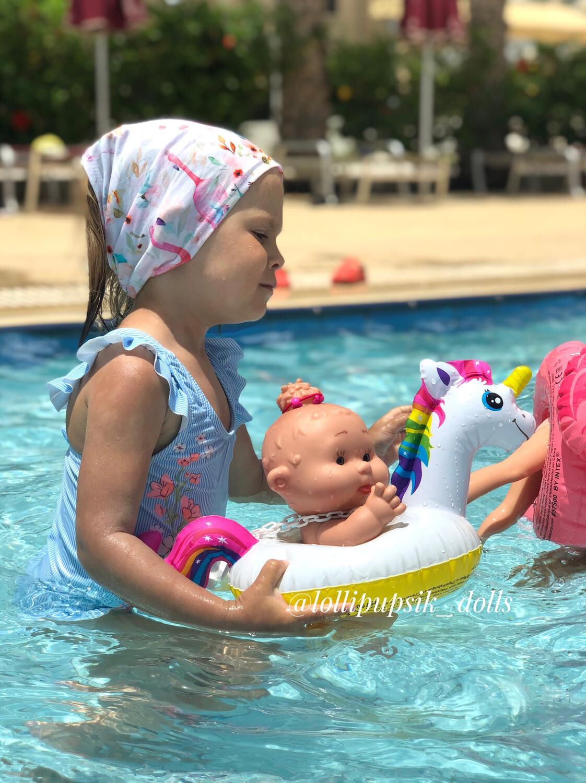 Плавательный круг для кукол
