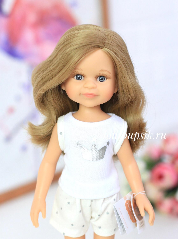 Кукла Клео с волосами по пояс в пижаме  (Паола Рейна), 34 см