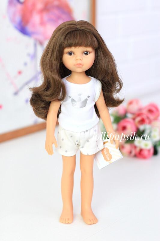 Кукла Кэрол с челкой в пижаме (Паола Рейна), 34 см