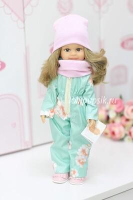 Кукла Клео в зимнем комбинезоне, Паола Рейна , 34 см