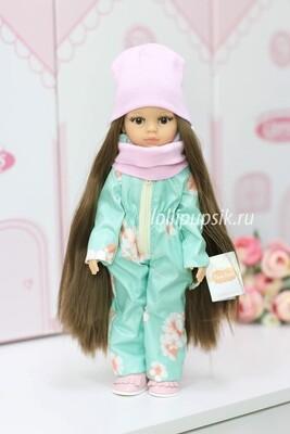 Кукла Кэрол Рапунцель с длинными волосами в зимнем комбинезоне  (Паола Рейна), 34 см