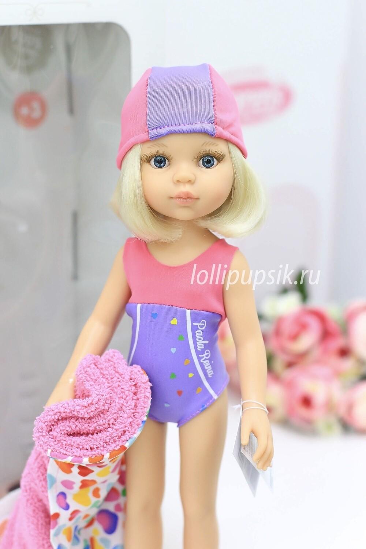 Кукла Клаудия пловчиха (Паола Рейна), 34 см