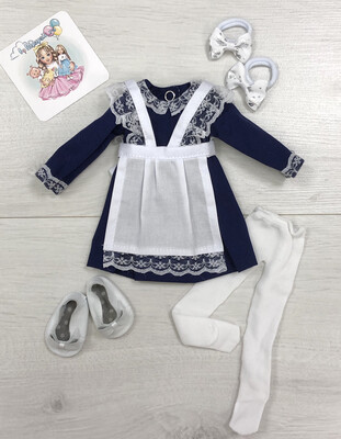Школьная форма для куклы Paola Reina 32-34 см