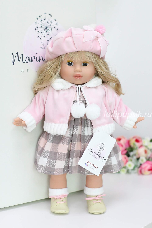 Кукла Тина с закрывающимися глазками, Marina&Pau, 42 см