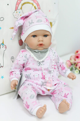 Кукла мягконабивная Тита - малышка, Nines d'Onil, 45 см