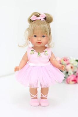 Кукла Valeria ballet, 28 см, Llorens