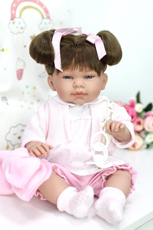 Виниловая кукла-младенец Марина, Lamagik S.L. (Magic Baby), 45 см