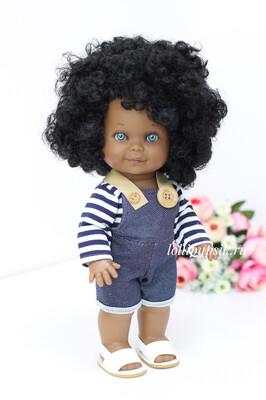 Кукла Бетти-мулатка с ароматом карамели, с голубыми глазками, 30 см, Lamagik Magic Baby