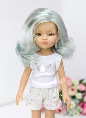 Кукла Лиу с волосами по пояс в пижаме  (Паола Рейна), 34 см