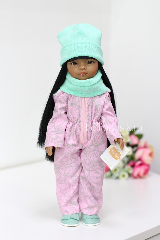 Кукла Мэйли в демисезонном комбинезоне Паола Рейна (Paola Reina), 34 см