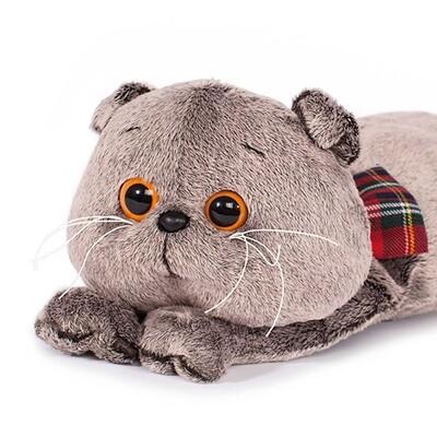 BUDI BASA Мягкая игрушка кот Басик - подушка - 40 см