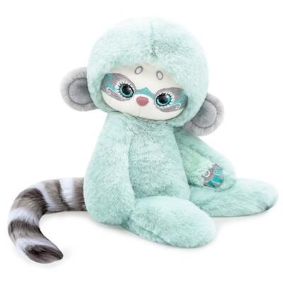 BUDI BASA Мягкая игрушка Лори КОЛОРИ Джу (мятный) - 25 см в положении сидя