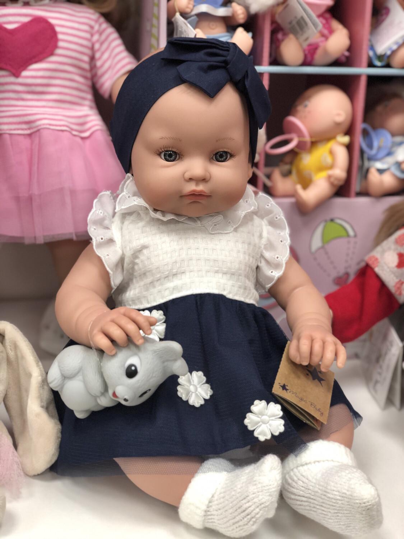 Виниловая кукла-младенец Алисия, Lamagik S.L. (Magic Baby), 45 см