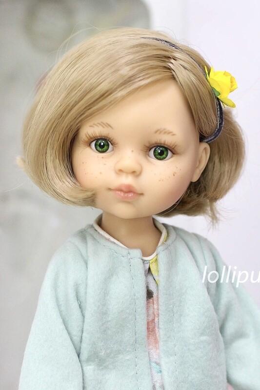 Кукла Карла с каре Паола Рейна, 34 см