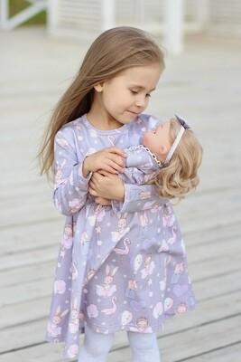 Платье с длинным рукавом «Феечки»