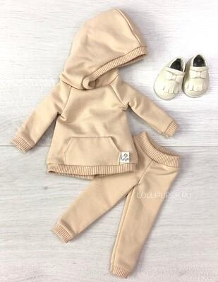 Комплект для куклы Paola Reina 32-34 см, беж