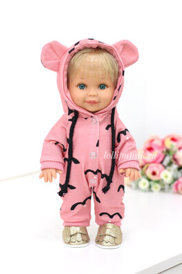 Кукла Бетти с ароматом карамели, 30 см (в комбинезоне с ушками) Lamagik Magic Baby