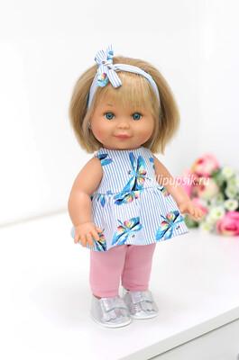Кукла Бетти с ароматом карамели, 30 см (в тунике и лосинах) Lamagik Magic Baby