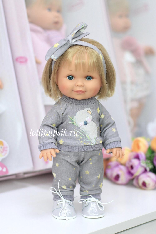 Кукла Бетти с ароматом карамели, 30 см (в костюме с коалами) Lamagik Magic Baby
