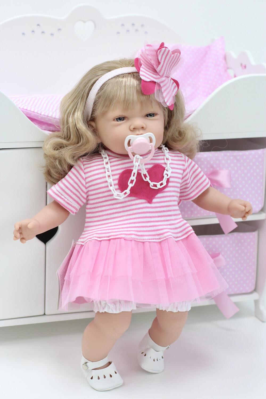 Кукла мягконабивная Селия, Nines dÓnil, 45 см