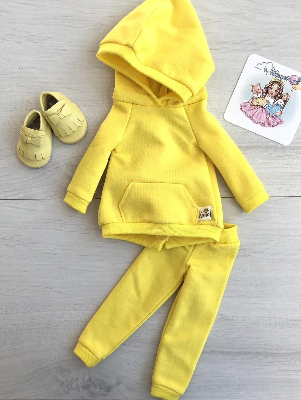 Комплект для куклы Paola Reina 32-34 см, лимонный