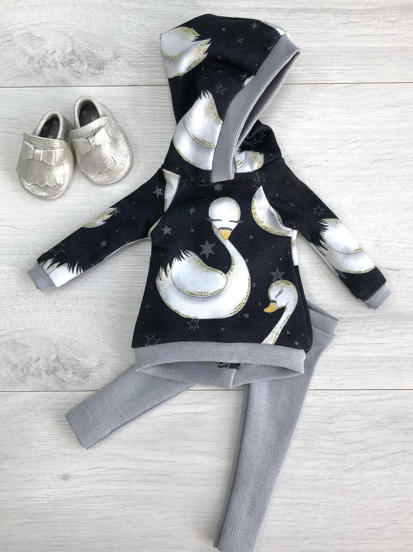 Комплект с лебедем для куклы Paola Reina 32-34 см