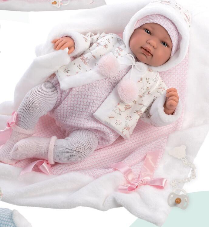 Кукла Tina со звуковым механизмом, Llorens, 44 см