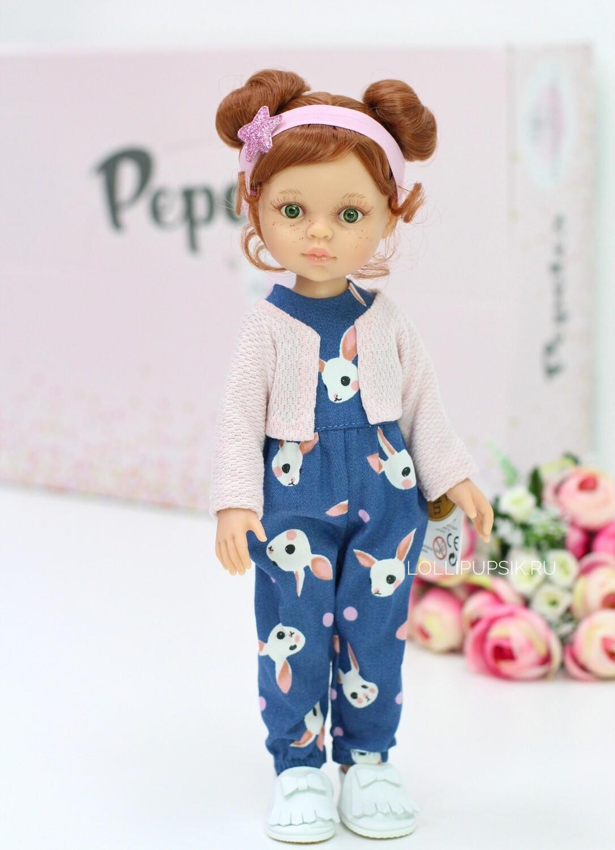 Кукла Кристи с буклями в модном наряде,  Паола Рейна , 34 см