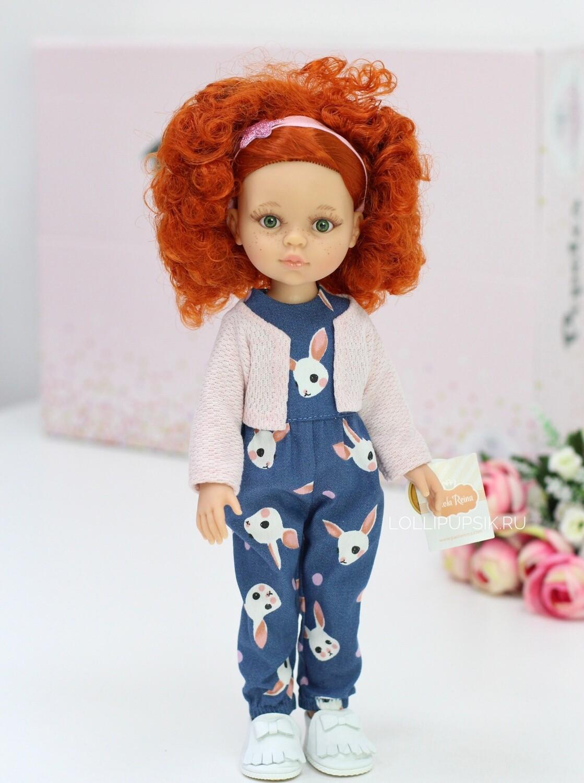 Кукла Каролина в стильном комплекте,  Паола Рейна , 34 см