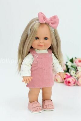 Кукла Бетти Рапунцель с ароматом карамели, 30 см (в вельветовом сарафане) Lamagik Magic Baby