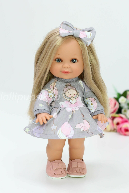 Кукла Бетти Рапунцель с ароматом карамели, 30 см (в платье с феечками) Lamagik Magic Baby