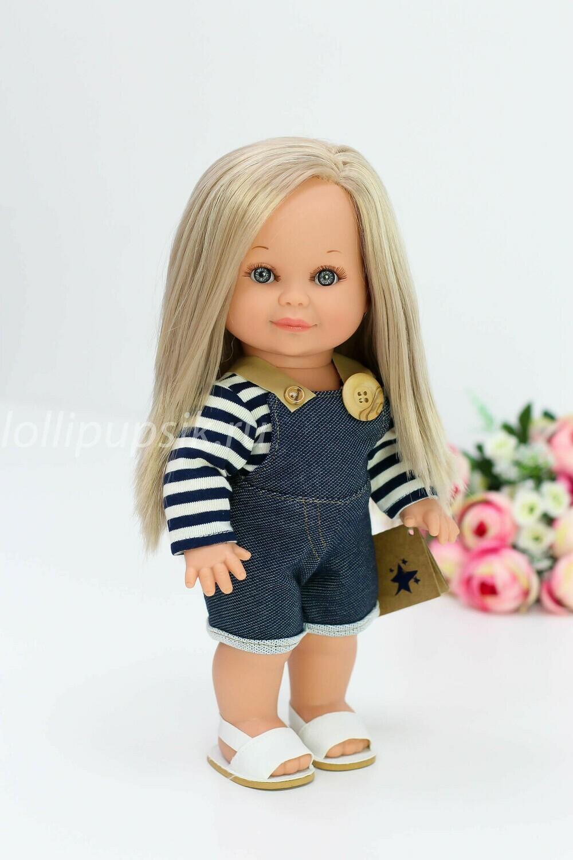 Кукла Бетти Рапунцель с ароматом карамели, 30 см (в стильном наряде) Lamagik Magic Baby