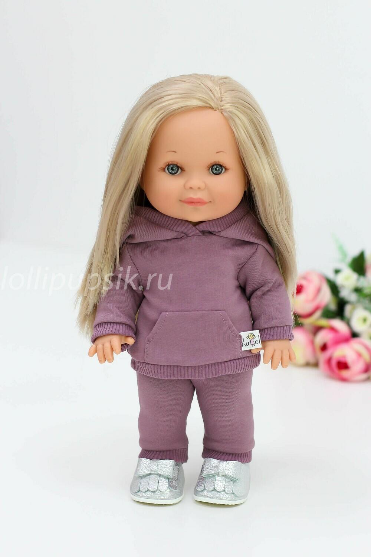 Кукла Бетти Рапунцель с ароматом карамели, 30 см (в костюме марсала) Lamagik Magic Baby