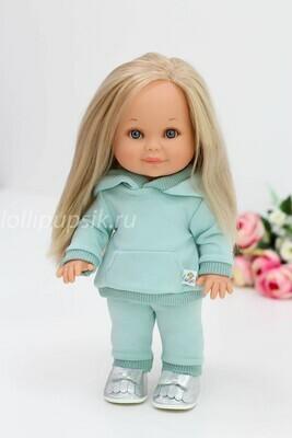 Кукла Бетти Рапунцель с ароматом карамели, 30 см (в костюме мята) Lamagik Magic Baby
