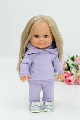 Кукла Бетти Рапунцель с ароматом карамели, 30 см (в костюме лаванда) Lamagik Magic Baby