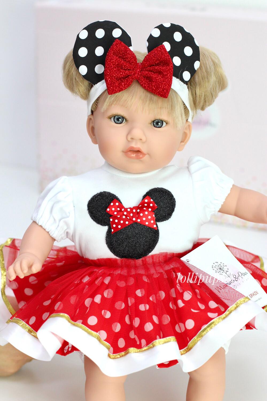 Кукла мягконабивная Alina, Marina&Pau, 45 см
