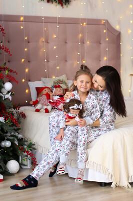 Пижама «Новогодние носики»