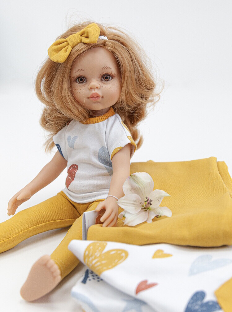 Кукла Даша в модной одежде (Паола Рейна), 34 см