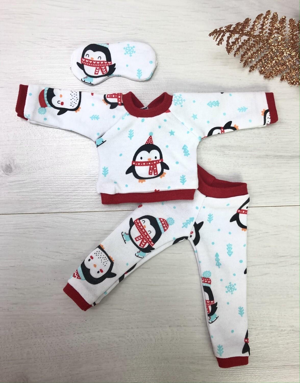 Новогодний комплект без обуви, для куклы Paola Reina 32-34 см
